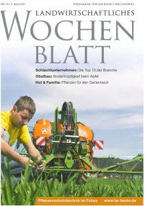 Landwirtschaftliches Wochenblatt