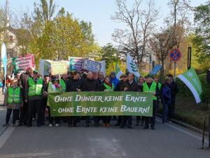 Bauern und Winzer demonstrierten in Landau